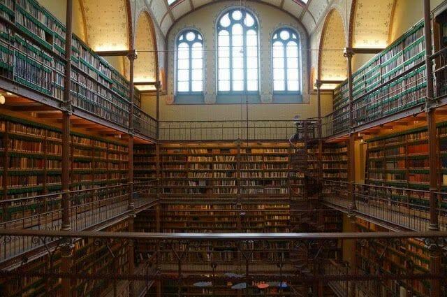 biblioteca museo Rijksmuseum Ámsterdam