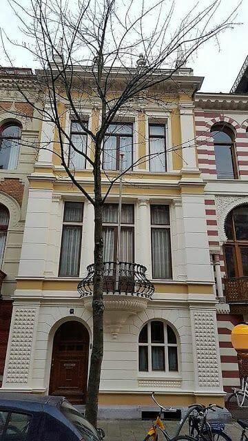 Zevenlandenhuizen casa italiana calle Roemer Visscherstraat