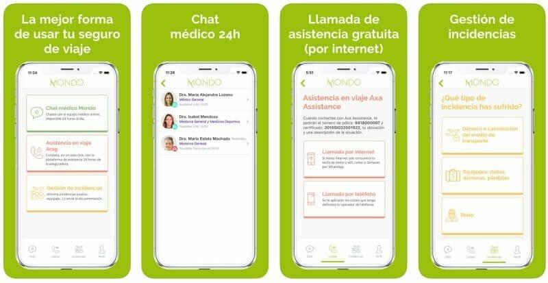 servicios app hey mondo