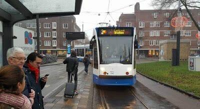 parada tranvía 2 de Amsterdam