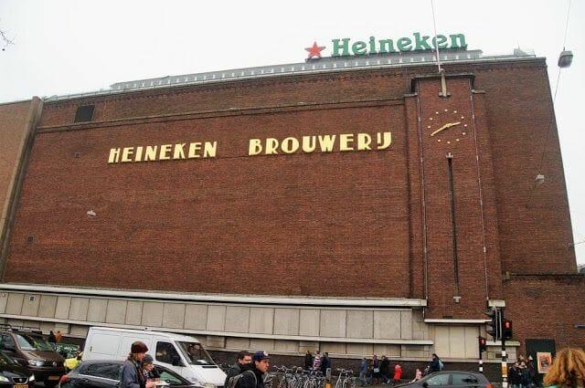 Visita de la Heineken Experience Ámsterdam