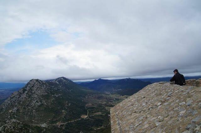 vistas castillo de quéribus