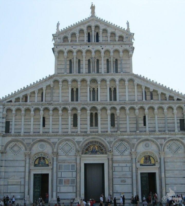 catedral de pisa fachada