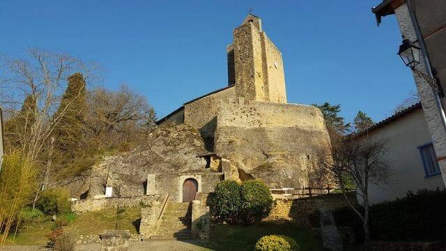 iglesia rupestre Santa María de Val
