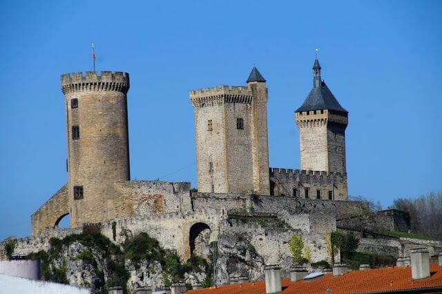 torres castillo de Foix