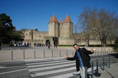 carcassonne entrada ciudad vieja
