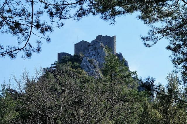 torreón castillo de Puylarens