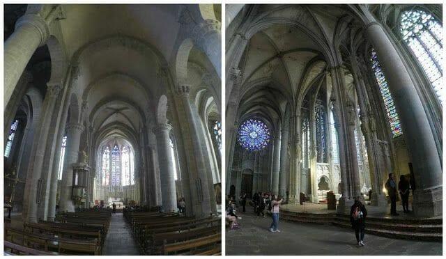 interior Basílica de Saint Nazaire