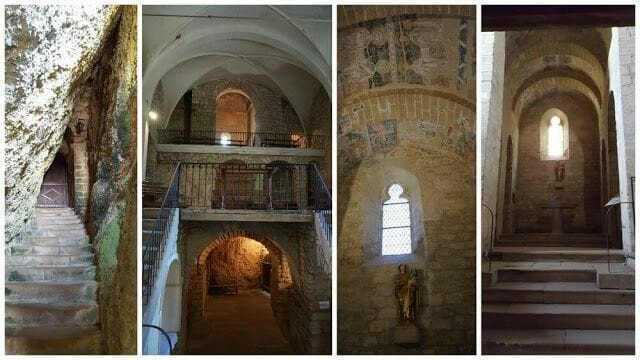 iglesia rupestre Santa María de Vals