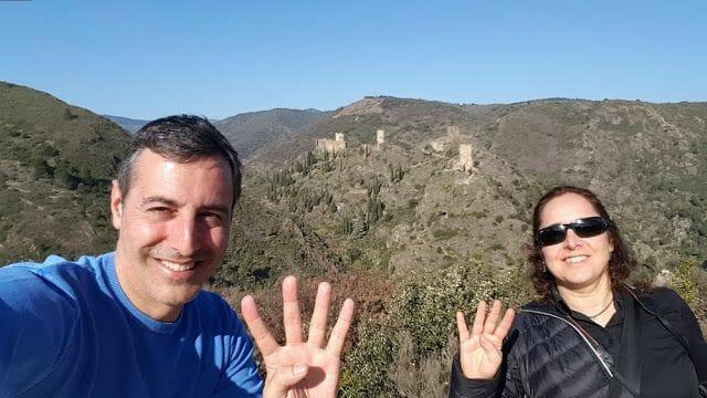 Los 4 castillos de Lastours que visitar en la ruta de los cátaros