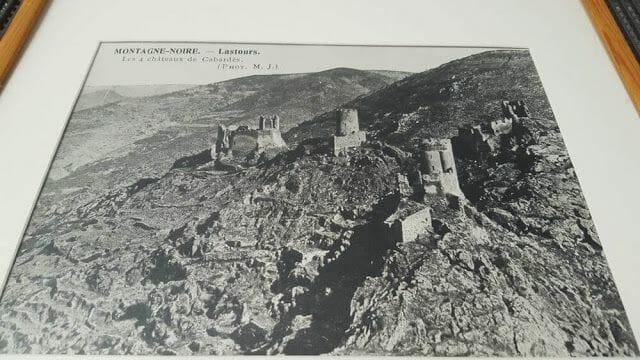 ruinas castillos de Lastours