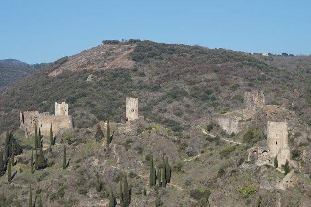 castillos que ver en Lastours