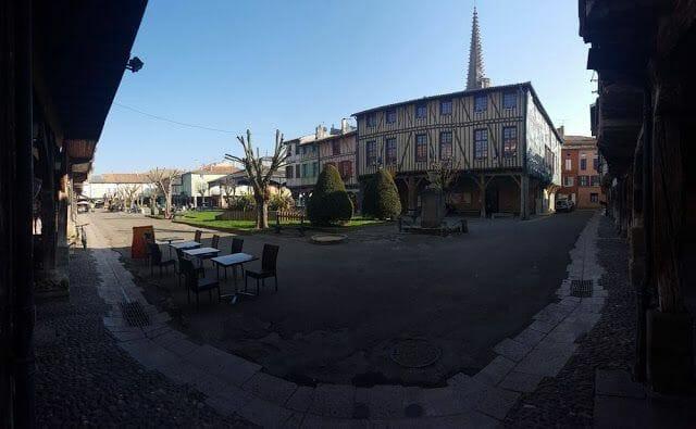 plaza de Mirepoix Francia