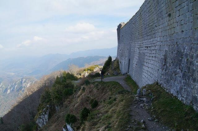 castillo de Montsegur vistas