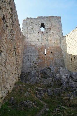 ruinas castillos cátaros