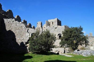 torre del homenaje Castillo de Puilaurens