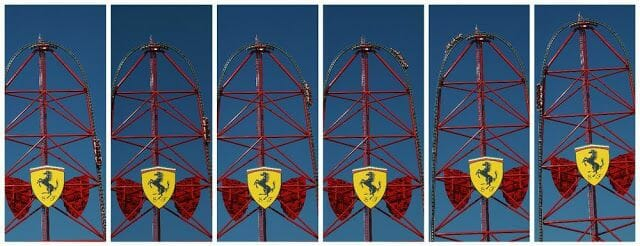 red force de ferrari land