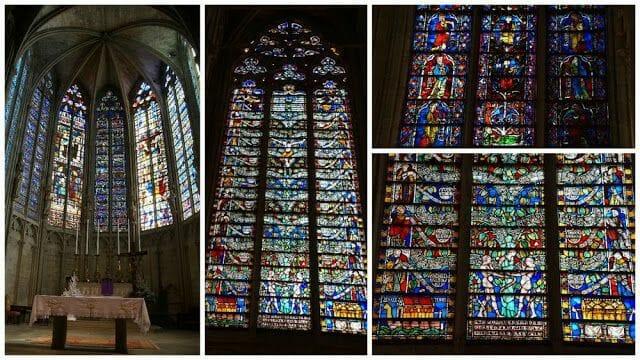 vidrieras Basílica de Saint Nazaire