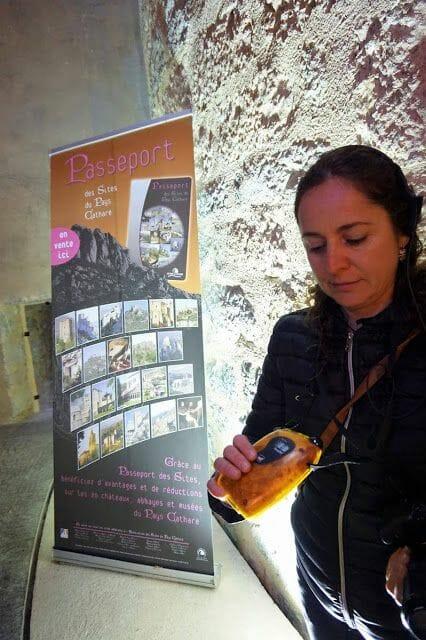 audioguia castillo de Villerouge Termenès