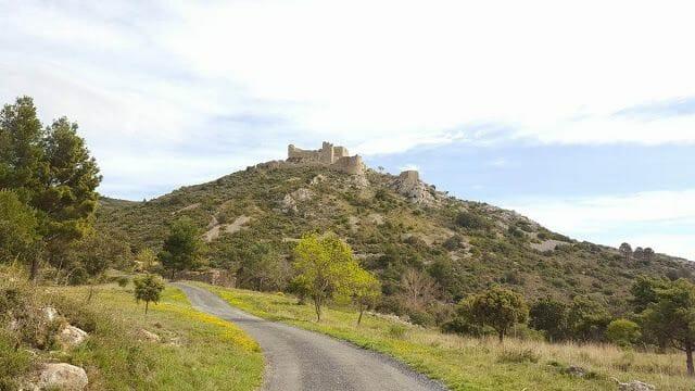 emplazamiento castillo de Aguilar