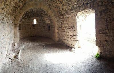 ruinas castillo de Aguilar