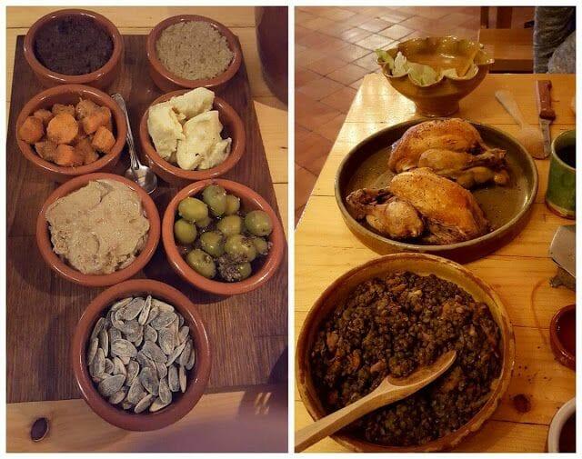 Rôtisserie Médiévale platos