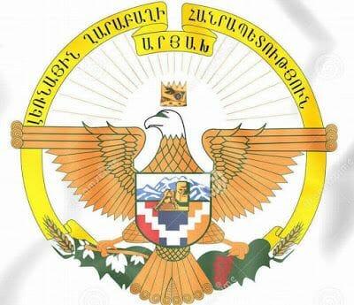 escudo de armas de Nagorno -Karabaj.