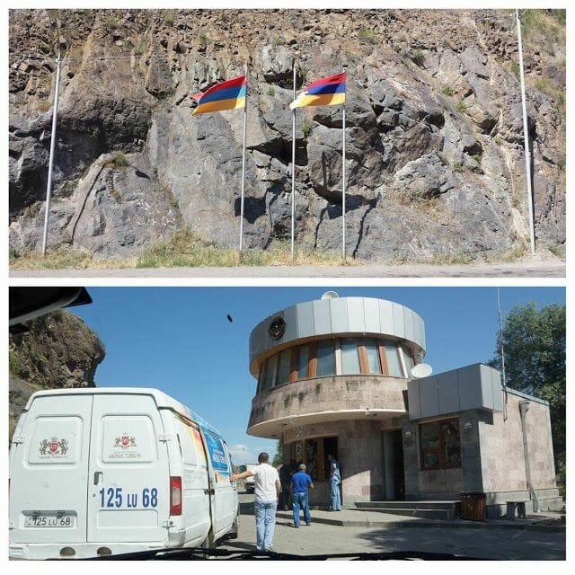 frontera Nagorno Karabaj