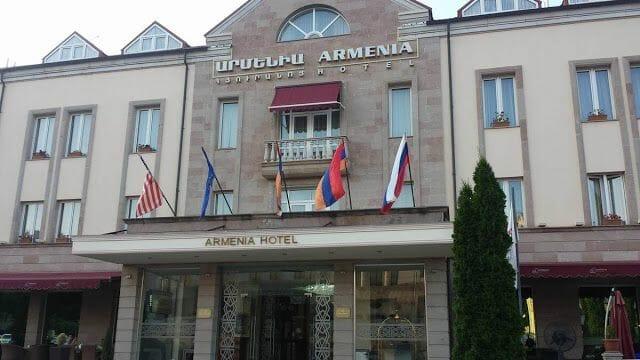 Hotel Armenia de Nagorno karabaj