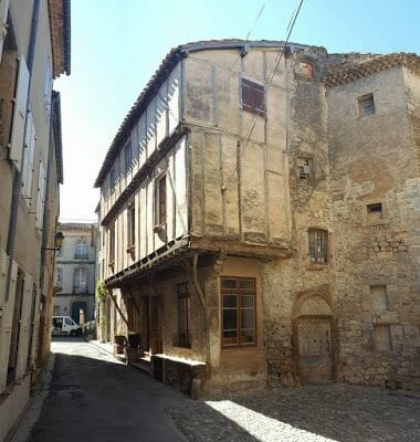 casa medieval de Lagrasse