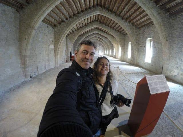sala gotica abadia lagrasse