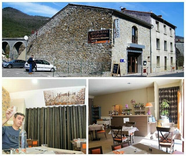 Restaurante Le Catharome restaurantes de la Ruta de los Cátaros