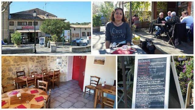 Restaurante La Cocotte Félée de la Ruta de los Cátaros