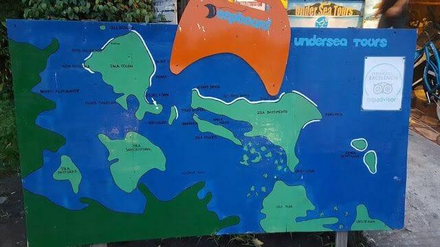 cayo Zapatilla desde Bocas del Toro
