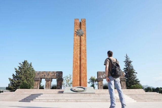Memorial de Stepanakert - viaje a Nagorno Karabaj
