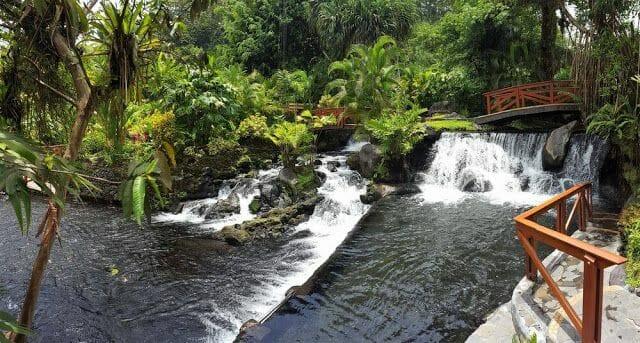 aguas termales Tabacón