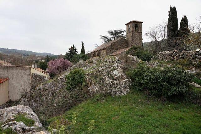 iglesia Villerouge Termenès