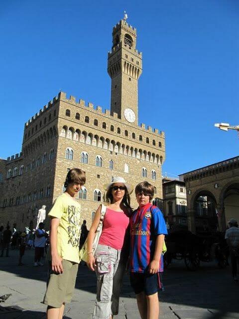 el palacio Vecchio en nuestras cosas que ver en Florencia en unas horas