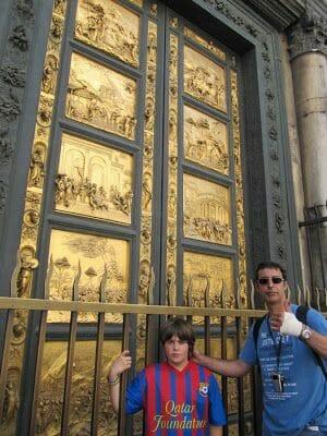 puertas baptisterio que ver en Florencia en unas horas