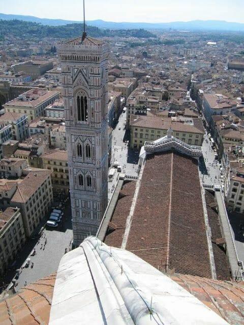 subir a la cúpula del duomo en Florencia en unas horas