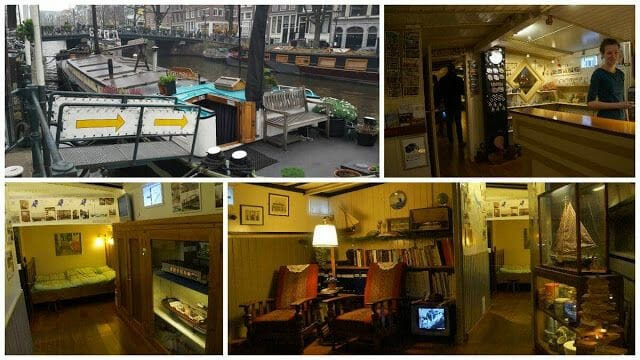 barcos canales amsterdam