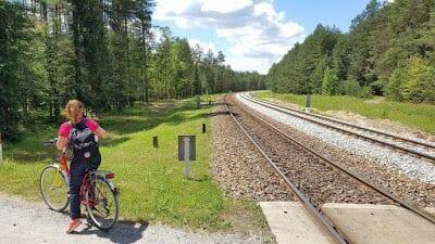 ruta en bicicleta por Polonia