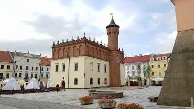 Tarnów - parada en la ruta por Polonia