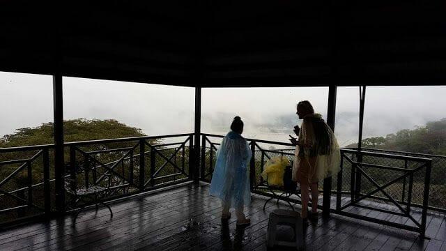 vistas del Río Chagres desde Gamboa teleferico