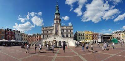 Zamosc en la ruta por Polonia
