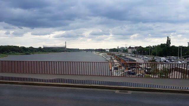 río vístula visitar Varsovia en 3 días