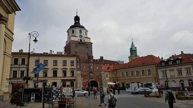 La Puerta de Cracovia de lublin