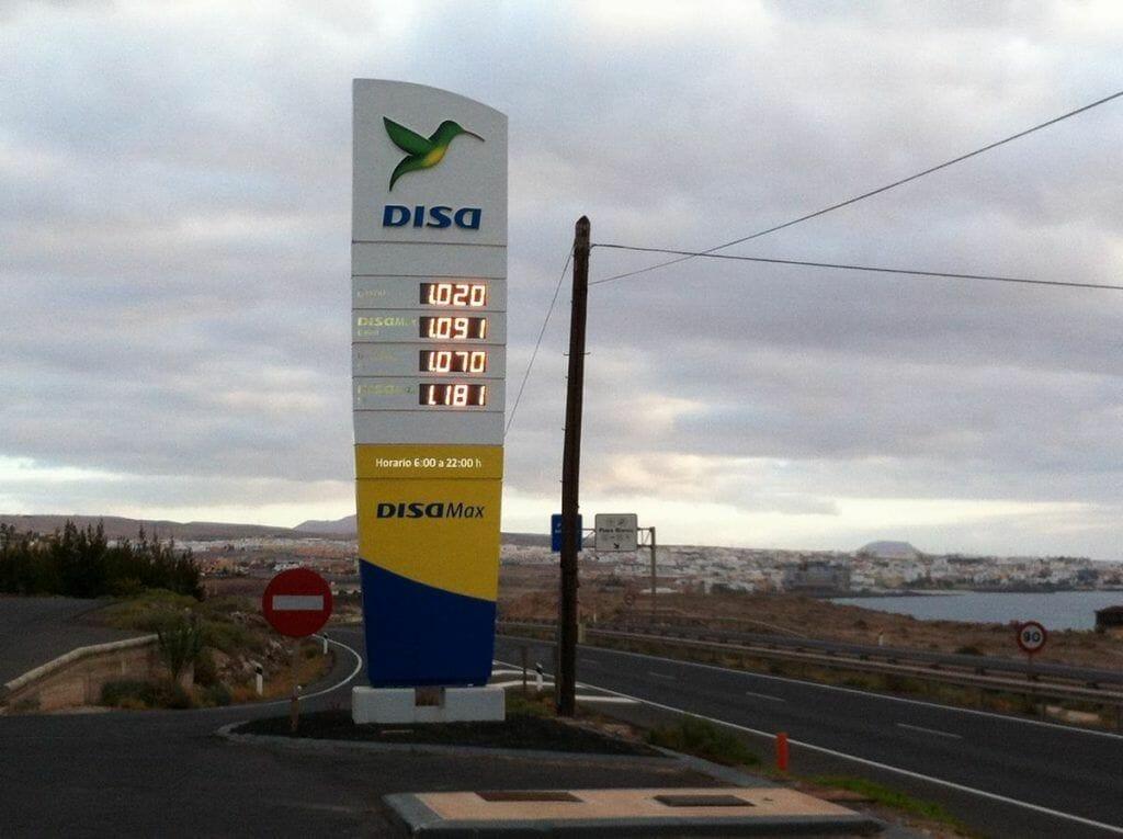 precio gasolina fuerteventura