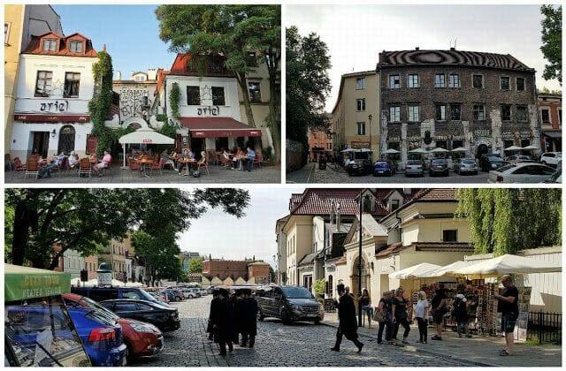 calle Szeroka - barrio judío de Cracovia