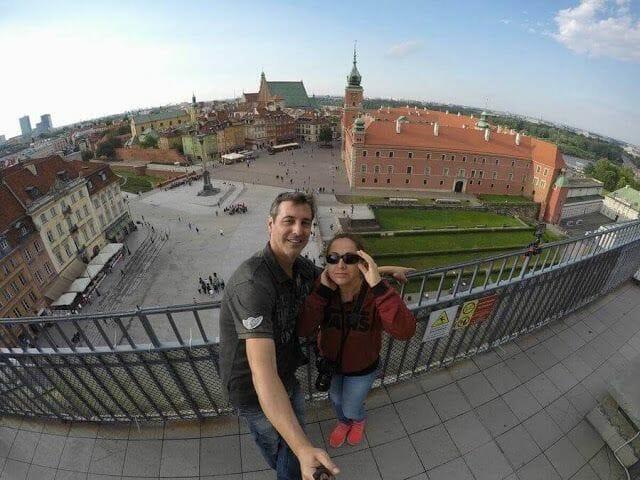 Primera jornada de ruta por Varsovia